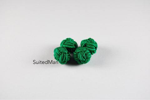Silk Knot, Emerald Green