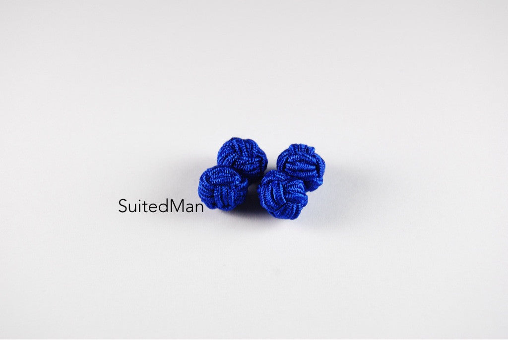Silk Knot, Royal Blue - SuitedMan