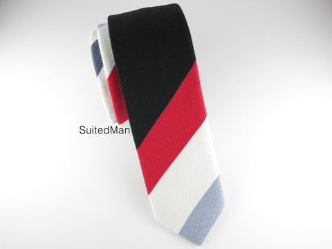 Tie, Multicolor Stripes I - SuitedMan