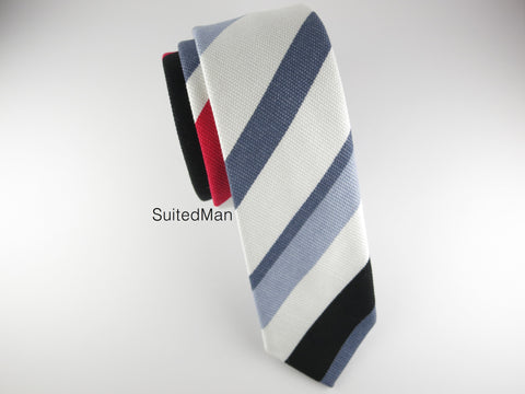Tie, Multicolor Stripes II - SuitedMan
