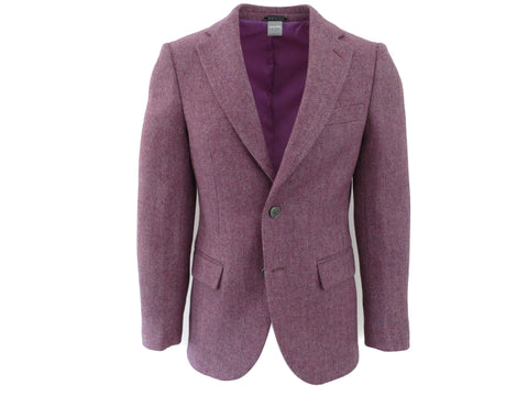 SuitedMan D'Italia Jacket, Tweed Herringbone, Lilac