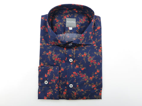 SuitedMan D'Italia, Liberty of London, Navy English Rose - SuitedMan