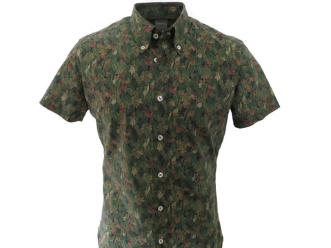 SuitedMan D'Italia, Liberty of London, Palms, Short Sleeve - SuitedMan