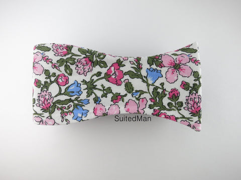 Floral Bow Tie, Antique Petite Bloom - SuitedMan
