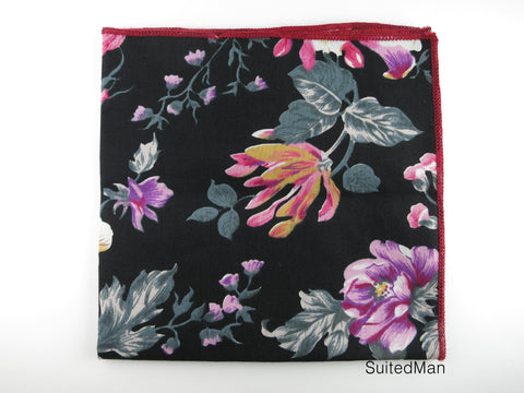 Pocket Square, Vivid Orchid - SuitedMan