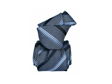 SuitedMan D'Italia Tie, Blue Stripes