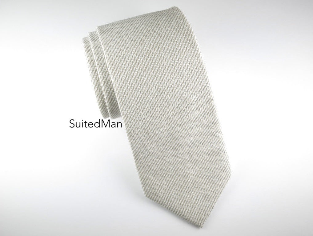 Tie, Mocha Stripes - SuitedMan
