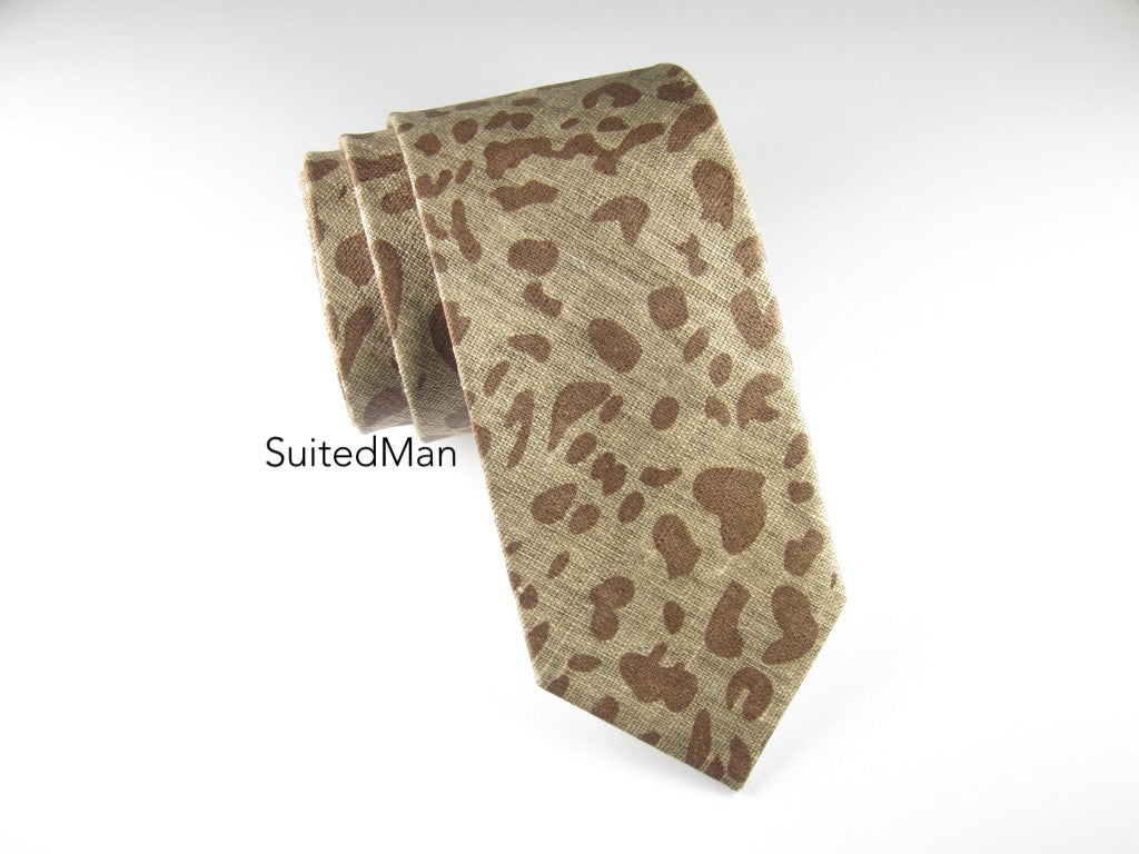 Tie, Safari, Shades of Brown - SuitedMan