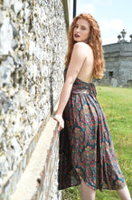 Load image into Gallery viewer, Sustainable clothing, ethical clothing, boho style, bohemian style, festival fashion, Bohemian dress, boho dress, boho summer dress, halter dress, summer dress,  bohemian dress