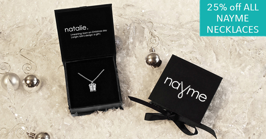 Cyber Monday Deal - Nayme Necklaces