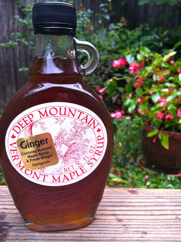Ginger Maple Syrup - 8oz