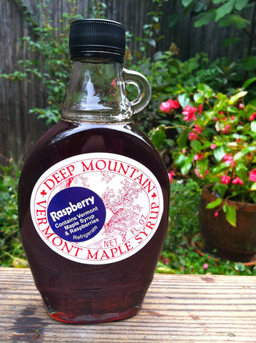 Raspberry Maple Syrup - 8oz