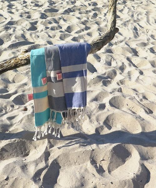 Turkish Towel Small Cotton Indigo