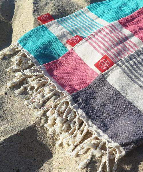 Turkish Towel Small Bamboo Coral