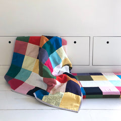 CO009 COD BLANKET & BENCH PILLOW