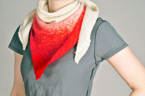 Make a Hand Dyed Scarf