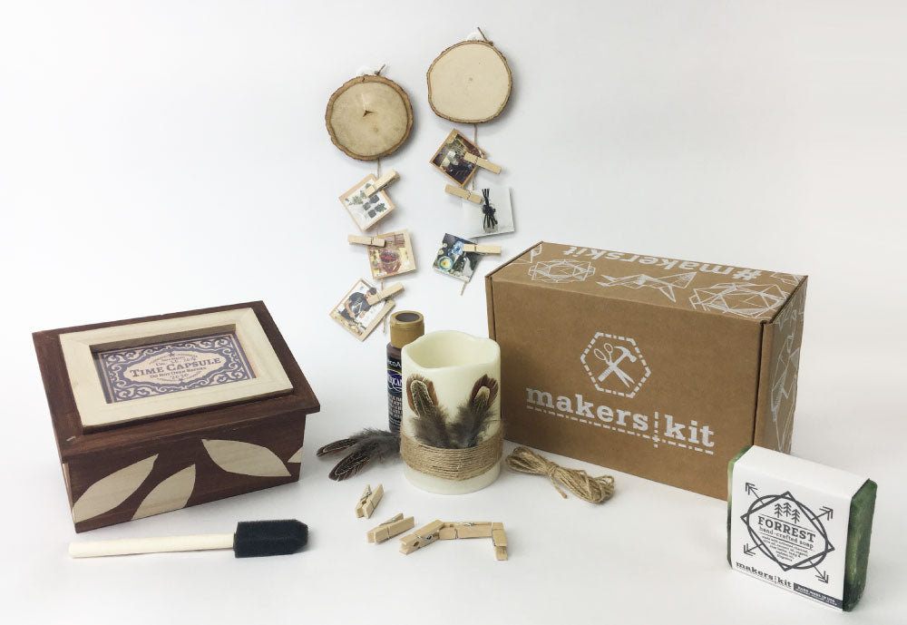 Makers Kit Wood Craft