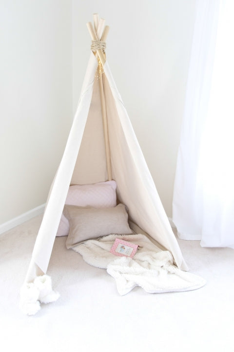 Camp At Home With Your Own DIY Teepee