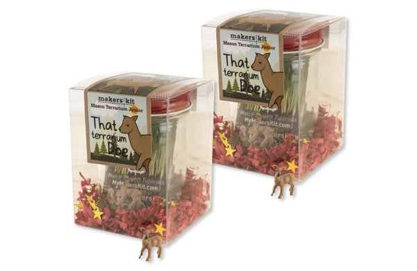 """That Terrarium Doe"" Terrarium Juniors, 2-Pack Gift Set"