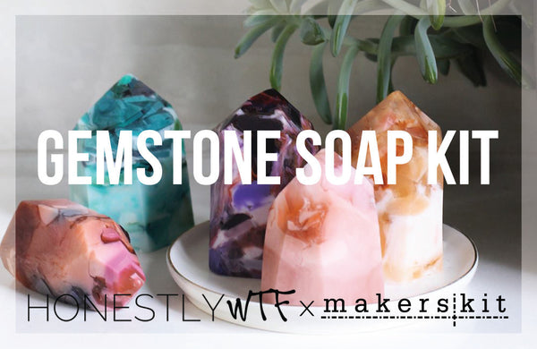 HonestlyWTF Gemstone Soap Kit / One-Time Purchase (Winter)