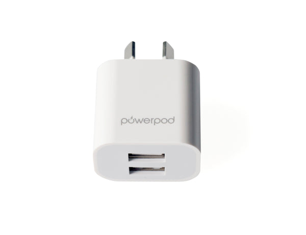 Dual Port USB Wall Charger