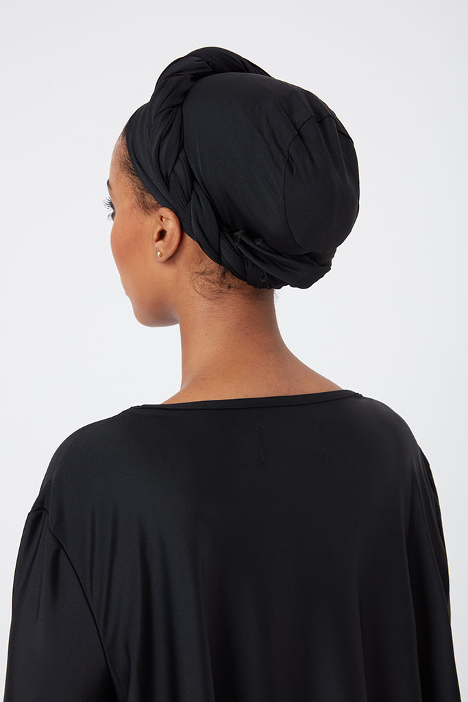 Multi-Way Swim Cap - Black