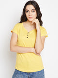 Yellow Short Sleeve T-shirt