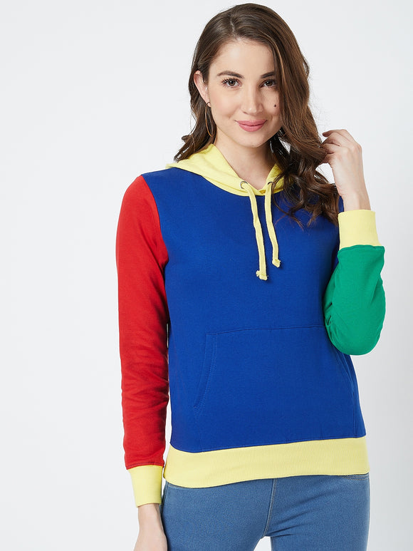 Full Sleeve Multi colour Sweatshirt