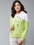 Full Sleeve Parrot Colour  Sweatshirt
