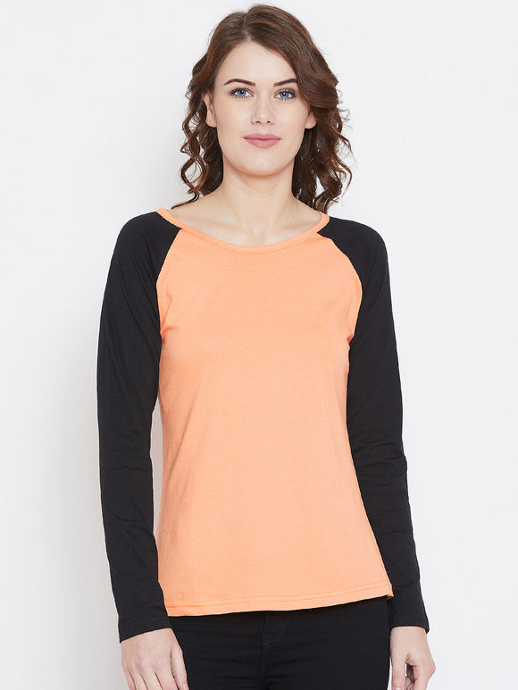 Round Neck Full Sleeve T-shirt
