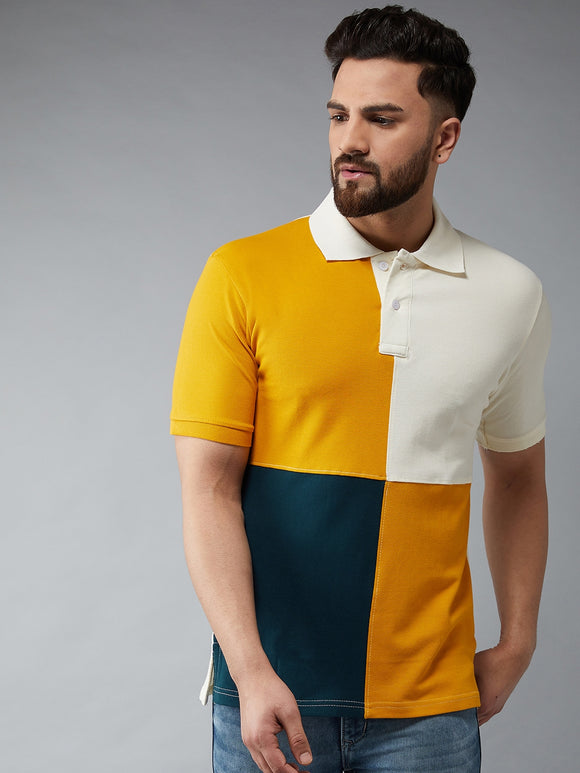 Multi colour polo Tshirt