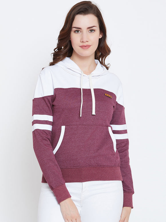 Full Sleeve Solid Sweatshirt