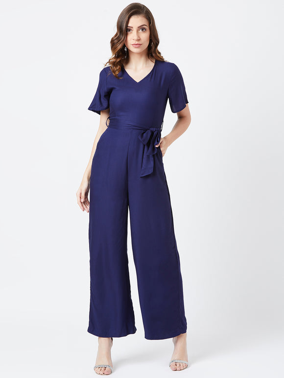 Nevy Blue Coloured Jump Suit