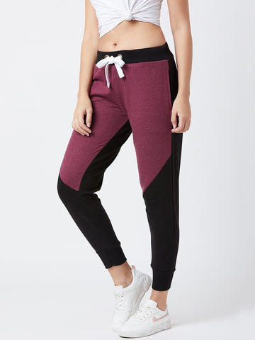 Colorblocked women Track pants