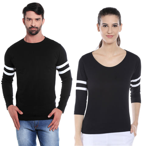 Black Colour Couple Combo