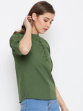 Women's Cotton  Top