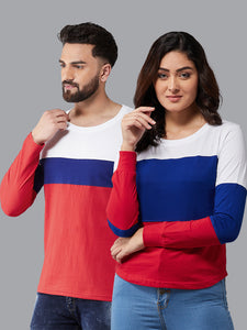 Colourblocked  Couple Combo