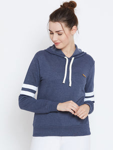 Full Sleeve Colorblocked Sweatshirt