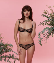 Load image into Gallery viewer, Sarah Brown London Chantilly Lace Balconette Bra Lingerie Set