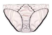 Load image into Gallery viewer, Pink Stretch-Silk Ric Rac Briefs