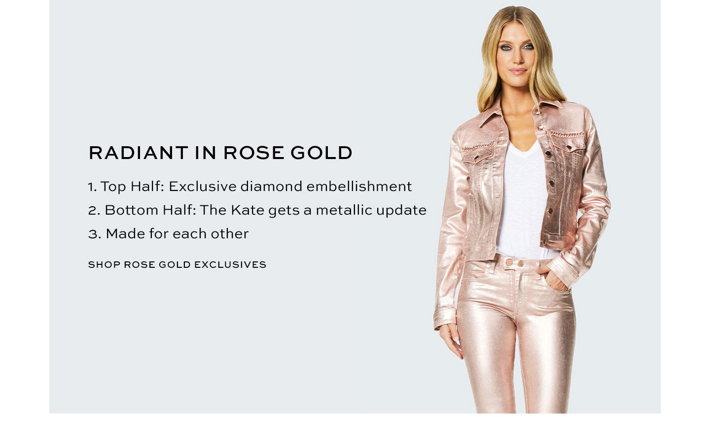 Shop Rose Gold Exclusive