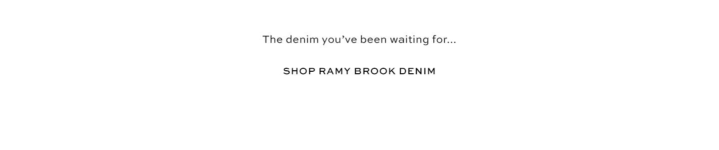 Shop Ramy Brook Denim