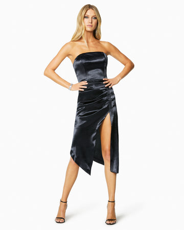 Metallic Carmen Dress
