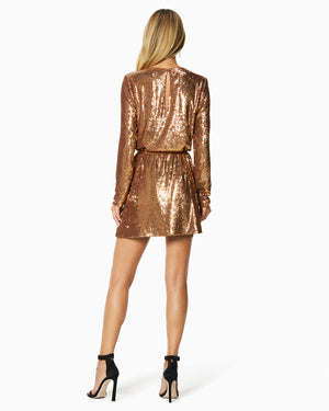 COPPER SEQUIN