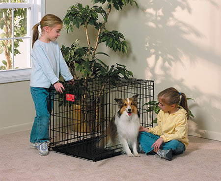 midwest homes for pets life stages double door crate