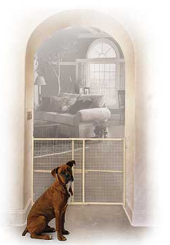 midwest homes for pets wire mesh pet gate