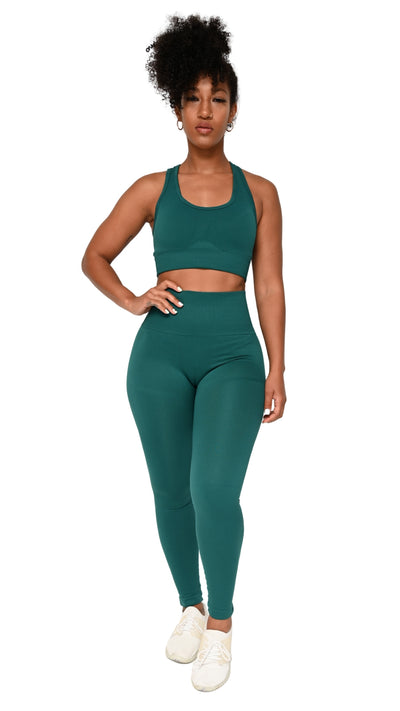 Shavo Seamless Set - Green - Gola