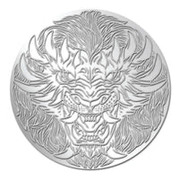 Zodiac Monster Series: LEO 999 1/10 oz Silver Coin