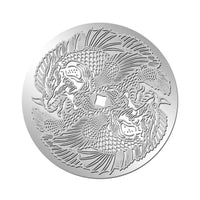 Zodiac Monster Series: PISCES 999 1/10 oz Silver Coin
