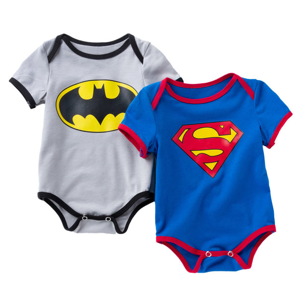 VINNYTIDO Superman and Batman Baby Clothing R120S